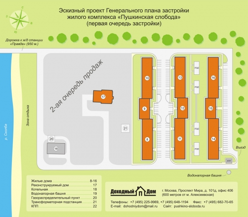 Жилой комплекс Пушкинская слобода